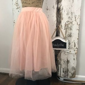 Dresses & Skirts - Ballerina pink tulle skirt